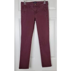 American eagle outfitters skinny pants 4 short